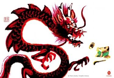 thierry dedieu,dragon,voeux