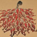 nicolas jolivot, chine scènes de la vie quotidienne, carnet de voyage, hongfei, carpes
