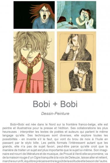 Enfance, Bobi, Le Village d'artistes, exposition