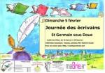Saint-Germain-sous-Doue, journée des écrivains