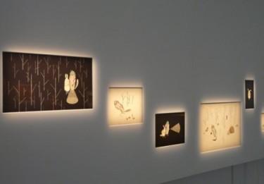 géradine alibeu, La Bête, bibliothèque Hermeland, exposition